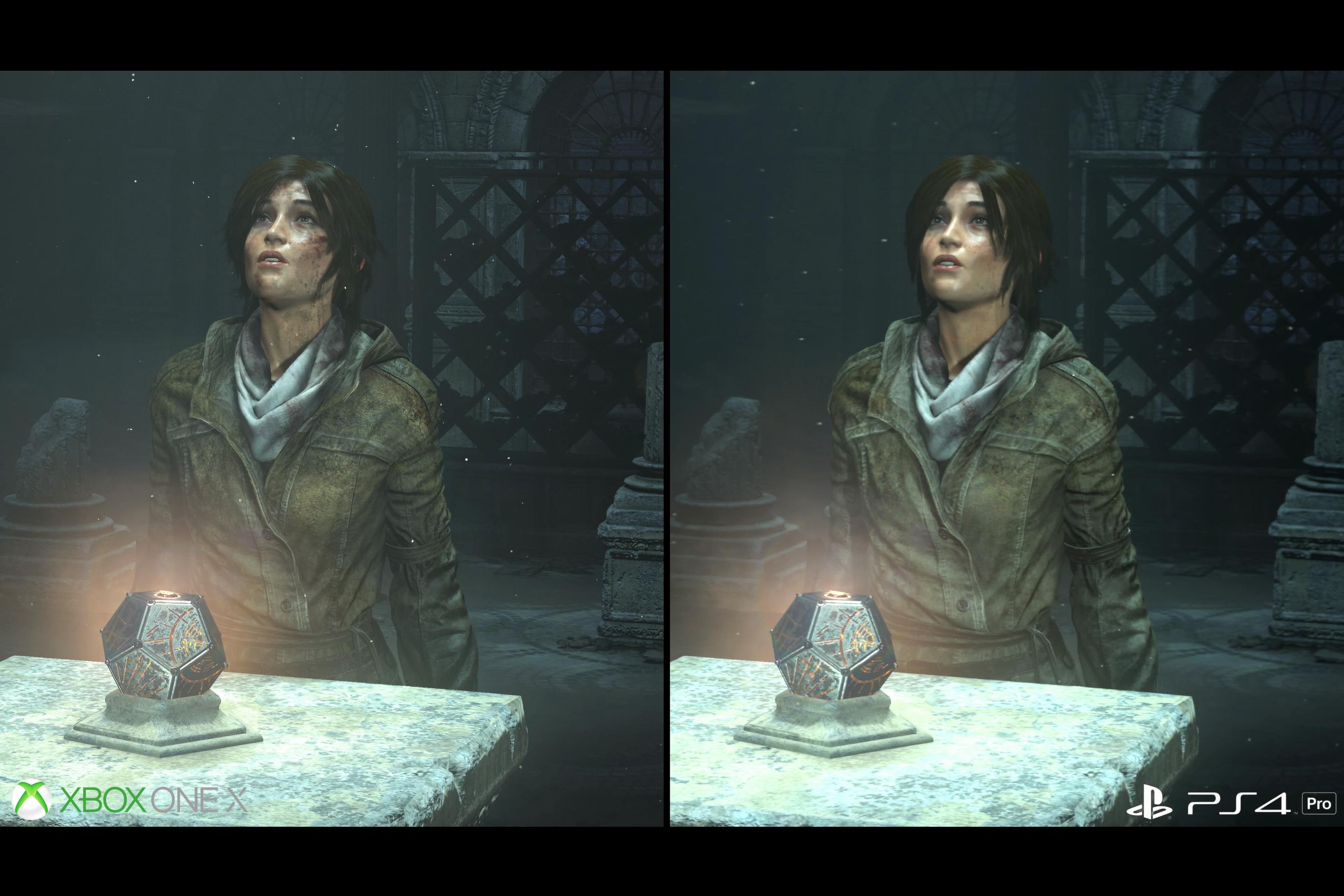 18mA5ZyCgugjo - XboxOneXとPS4proの比較映像が公開、PS4が完全に劣化ハードに