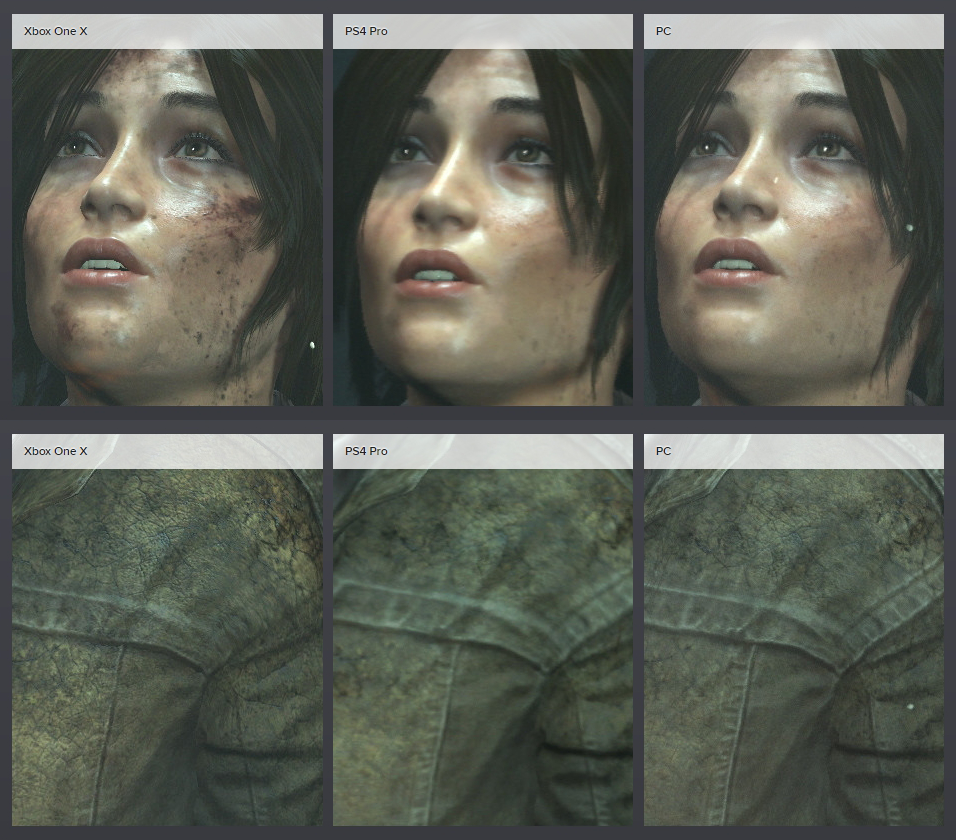 qnseR9jmE65am - XboxOneXとPS4proの比較映像が公開、PS4が完全に劣化ハードに