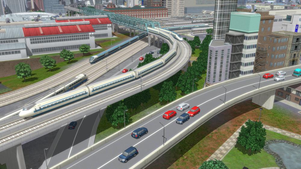 1 17 - A列車で行こうの最新作「A列車で行こうExp.」 一般車両が登場して渋滞する先進的機能搭載