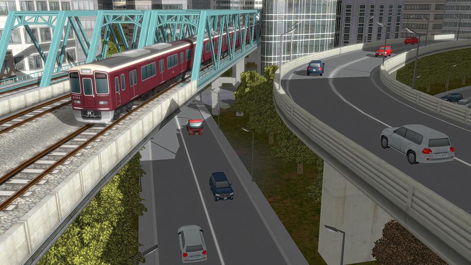 2 10 - A列車で行こうの最新作「A列車で行こうExp.」 一般車両が登場して渋滞する先進的機能搭載
