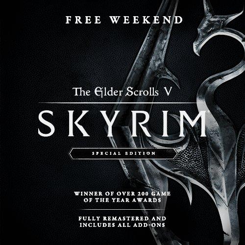 DJI8DwLXgAACij8 - 【物乞い速報】Skyrimが週末フリープレイ