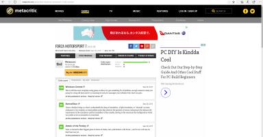 【Xboxone】フォルツア7いよいよ明日発売!メタスコア高評価で話題沸騰!