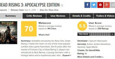 【脱箱】デッドライジング4、PS4で完全版が発売決定!