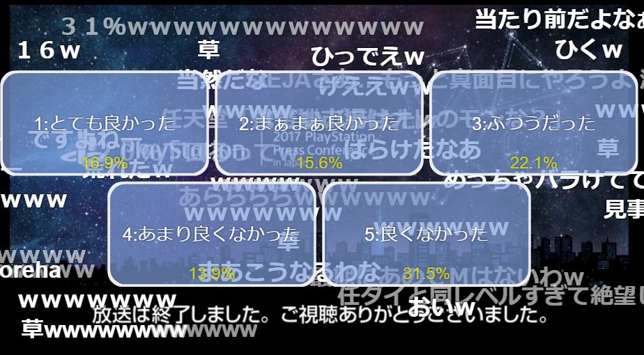 yVZWGvxo94O29 - 【故人】PSカンファお葬式会場【黙祷】