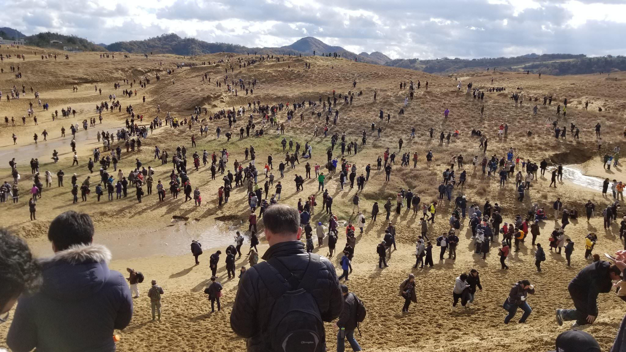 雪に包まれた鳥取砂丘がヤバい  [933382648]->画像>23枚