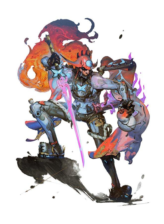 F91ome7xWmrsD - ニンテンドースイッチのゼノブレイド2のキャラクターデザイナー陣が超豪華な件