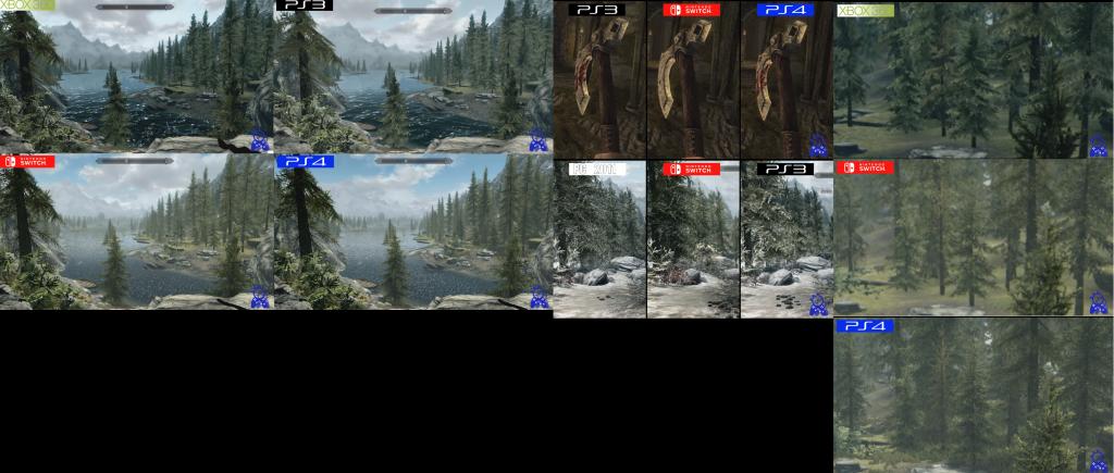 dotup.org1389073 1024x435 - スイッチ版スカイリムを他のバージョンと比較した映像が公開!!
