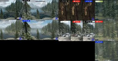 スイッチ版スカイリムを他のバージョンと比較した映像が公開!!