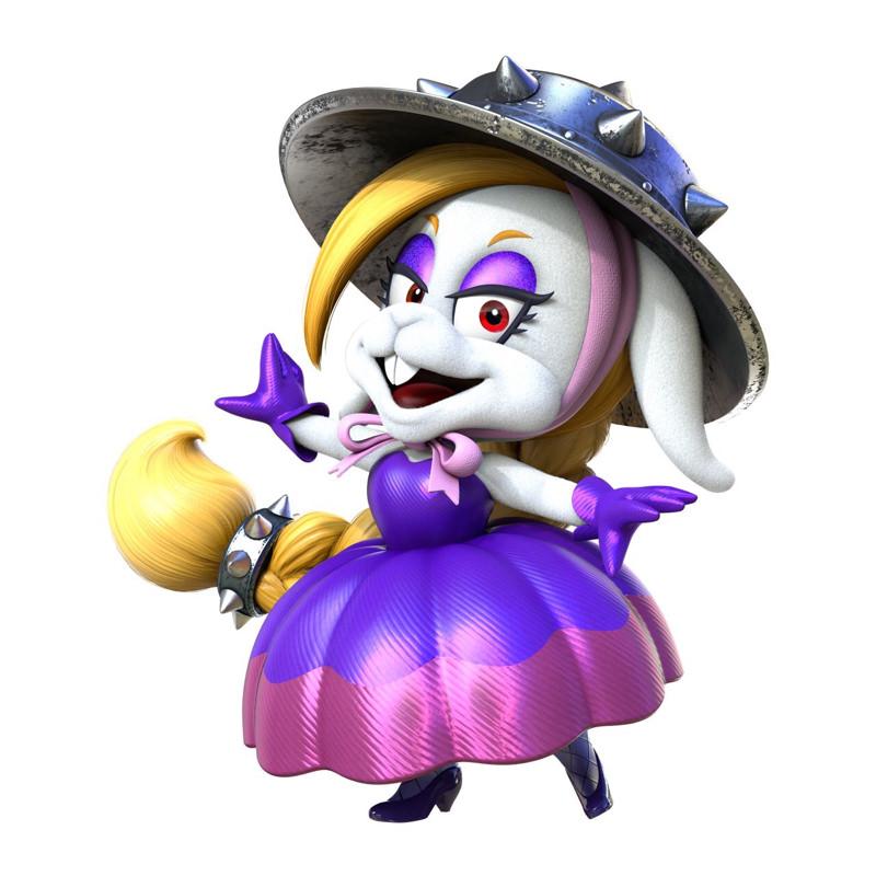 kvwRslPCSqVnk - マリオデのボスのウサギの女の子可愛すぎ