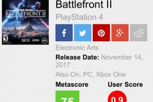 nu2yi4y 300x200 - 【悲報】Star Wars BattleFront   metacriticユーザースコア0.9/10.0