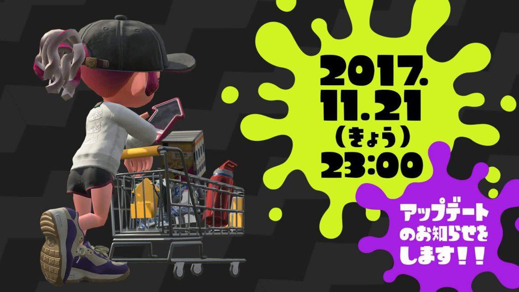 qct7RQY 1024x576 - 【新髪型】Splatoon2本日23:00からアプデ映像公開!!!【新ステ】