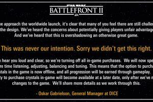 sl1wxs08vfyz 1 300x200 - 【朗報】EA、抗議を受けて『スター・ウォーズ︰バトルフロント2』から課金ガチャを一時的に削除。無料で遊べちまうんだ!