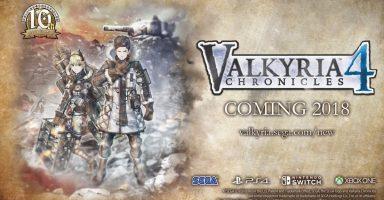戦場のヴァルキュリア4 PS4、スイッチ、xboxで2018年発売!!!
