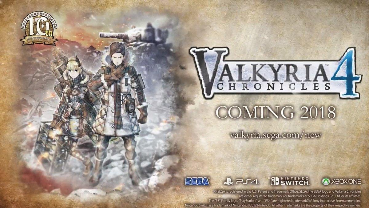 uJigzWGRWUaS3 - 戦場のヴァルキュリア4 PS4、スイッチ、xboxで2018年発売!!!