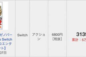 B8g1eF0EWaHEX 300x200 - 【真のゼノ2】PS4ドラゴンボールゼノバース2DX、2週目集計不能になる 一方Switch版はランクイン!!