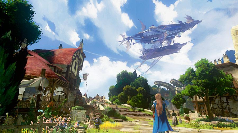 G9Q38ErL6sNOv - 【画像】PS4版グランブルーファンタジーがすげえ面白そう ドラゴン、飛行船、剣と魔法。スクエニよ、これが俺たちが望んでたFFだ