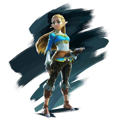 NintendoSwitch TLOZBreathoftheWild artwork char 01 png jpgcopy - 米大手ゲームメディア『Polygon』のGOTYがついに発表! 栄冠に輝いたのは…「ゼルダBotW」!!