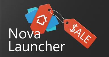【乞食速報】Nova launcher有料版が99円セール中