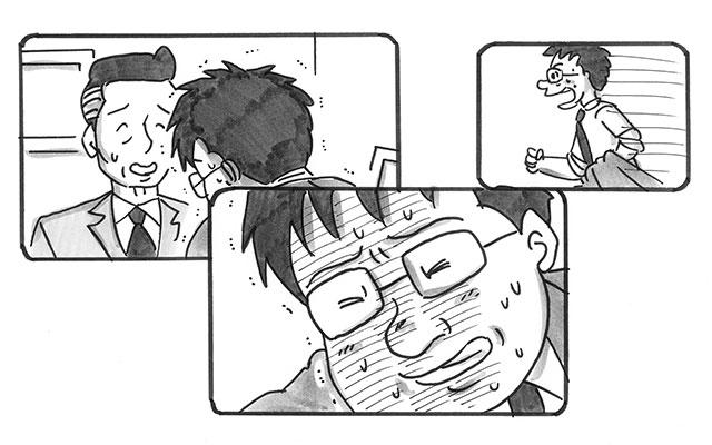 RNEM2iD1rHzhr - 【パラパラ漫画】鉄拳が『ドラクエ』の感動秘話を描く 「悲しくないのにウルッとする」