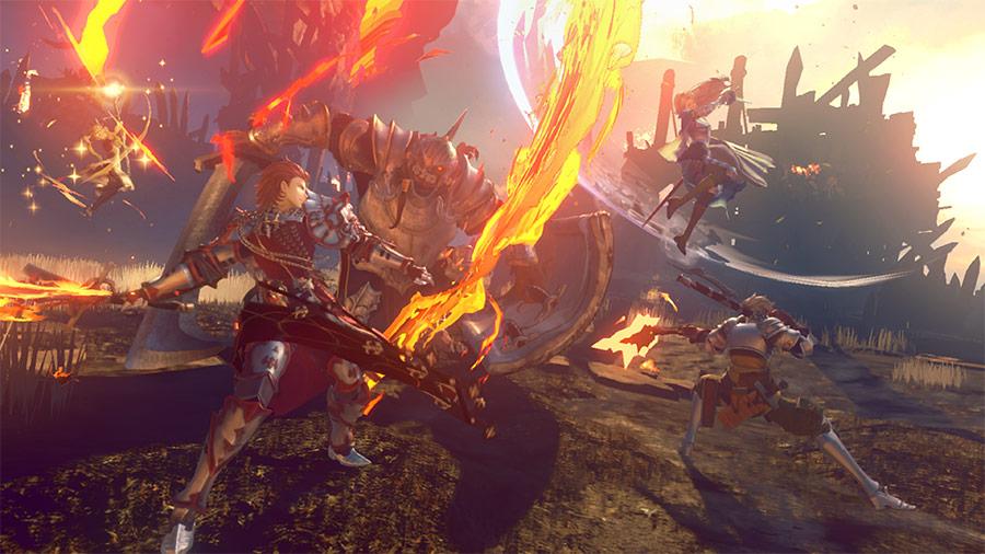 dA1G9AeM0leEy - 【画像】PS4版グランブルーファンタジーがすげえ面白そう ドラゴン、飛行船、剣と魔法。スクエニよ、これが俺たちが望んでたFFだ