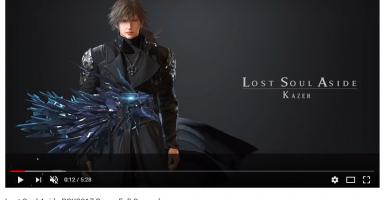 えっ……個人開発のインディーズゲーム「Lost Soul Aside」凄すぎ……