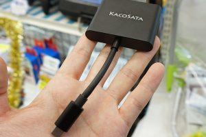 mswitchhdmiadapt1 300x200 - Nintendo Switch向けの小型HDMIアダプタが店頭入荷、実売3,980円 ドック不要でTV出力が可能
