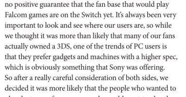 v8b3tecbro8sV 384x200 - 【朗報】ファルコム近藤社長「switch版に関してはファンの要望次第です」