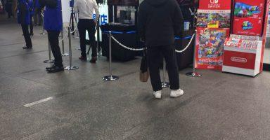 【画像あり】PS4史上最強の弾、モンハンワールドのヨドバシ店頭体験会の様子をご覧ください