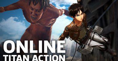 進撃の巨人2のNintendoSwitch版オンラインマルチプレイ動画が公開!!!!!