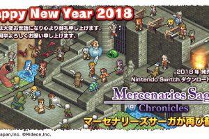 【速報】『マーセナリーズサーガ クロニクルズ』、スイッチで1月18日に発売決定!
