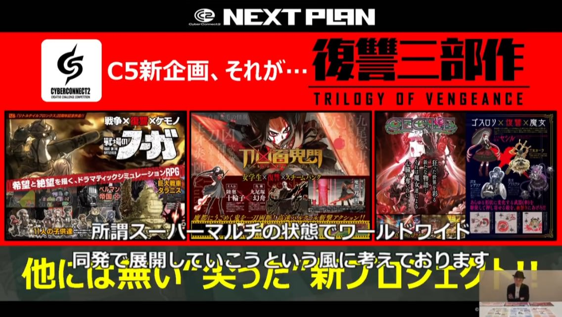 eFRKMxAnGhf8P - 【速報】サイバーコネクトツー、Nintendo Switchに参入!!!!!【CC2ピロシキ】
