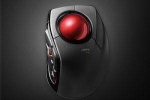 002 300x200 - 【●】トラックボール界の最後の生き残りメーカーになったエレコムがハイエンドトラックボールを新発売 ルビー支持球の大玉タイプ