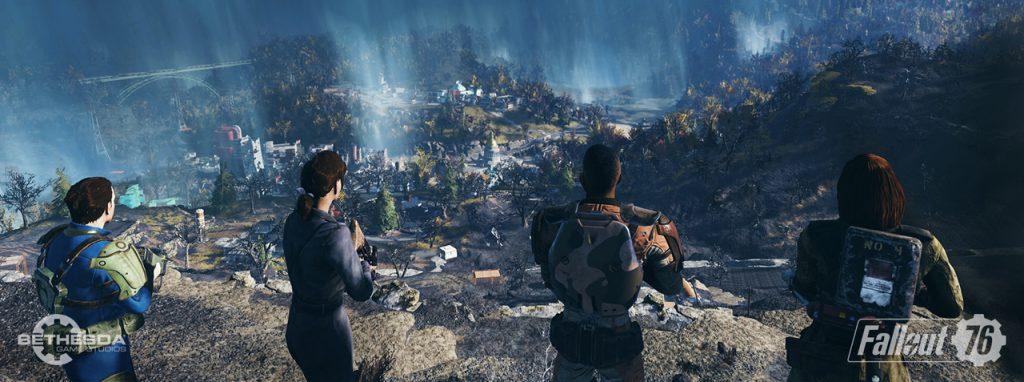 004 1 1024x382 - 『Fallout 76』のマルチプレイヤー動画が公開 くっそつまらなそう・・・
