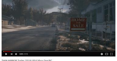 【PS4/Xbox One/PC】バンナム新作TWIN MIRRORが発表!
