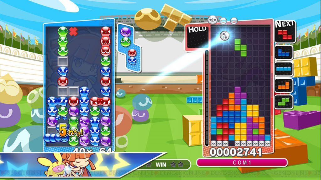puyoteto_003_cs1w1_1280x720-1024x576 【悲報】『ぷよぷよテトリス』実行ファイル128MB中、ゲームコードは5~6MB、残りはコピーガード