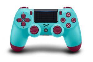 1 38 300x200 - PS4コントローラーに新色が登場。ベリーブルー、サンセットオレンジ、ブルーカモフラージュ、コッパーの4色