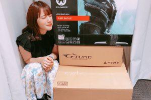 1 10 300x200 - 声優の内田真礼さんにカスタマイズPC(45万円)がプレゼントされる。「ゲームがしたい!なにがおすすめかな」
