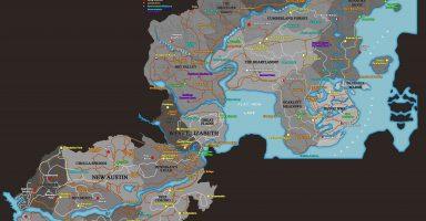 1 6 384x200 - 【速報】PS4「RDR2」、前作のマップを全て収録していることが判明!