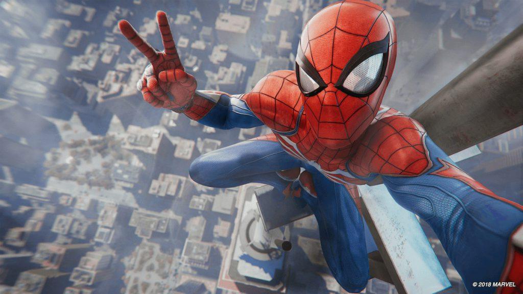 c0417 Spider Man PS4 Selfie Photo Mode 1024x576 - 【速報】PS4「スパイダーマン」、面白すぎて10人に1人がトロフィーをコンプリート! これは異常な数字らしい