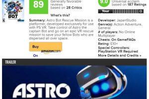 k2QhPb0 300x200 - 【朗報】人気がないソフトばかりだった「VRゲーム」に遂に神ゲーが日本から生まれてしまう メタスコア89、ユーザースコア90の傑作