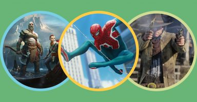 best video games 384x200 - 【朗報】米一流雑誌TIME誌、GOTY2018を発表。マリオパーティが受賞