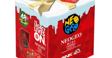 5bea3758c6579 384x200 - 近所のゲオでNEOGEO mini クリスマス限定版を買ってきた