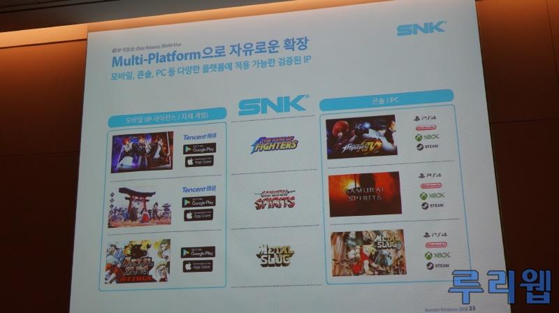 『サムライスピリッツ』がNintendo Switchで発売決定!2020年には『KOF XV』がSwitch/PS4で発売予定!
