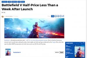 wHERfvB 300x200 - 【悲報】PS4『バトルフィールドV』、発売1週間で半額になってしまう