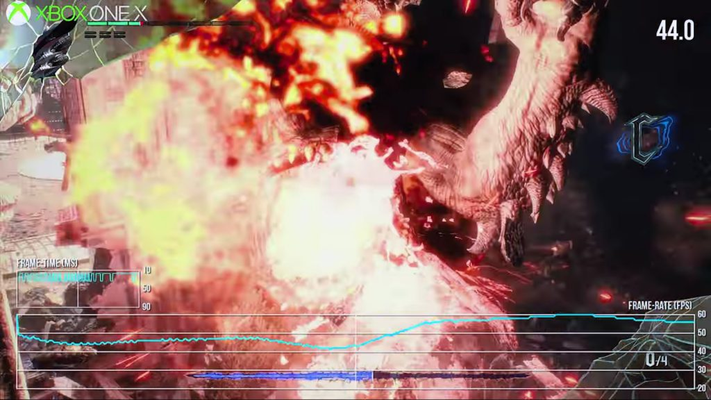 1-14-1024x576 XboxoneX版Devil May Cry5   35fpsのガクガクだった件