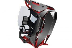 1 45 300x200 - 攻撃的な前傾姿勢デザインのPCケース「Torque」が発売。パトレイバーのイングラムのような外観でイングラム風MODも展示中