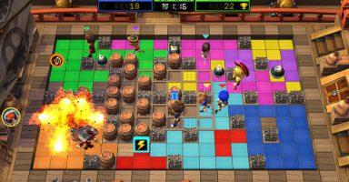 2 14 384x200 - ボンバーマンやろうぜ!最大32人対戦も Steam「ボンバーパーティー!トーナメント」期間限定無料配布中