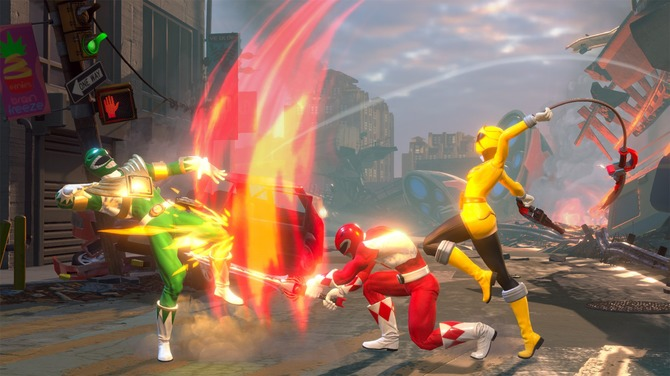 280683 - 【Switch/PS4】戦隊ヒーロー格ゲー『Power Rangers: Battle for the Grid』2019年4月発売決定!
