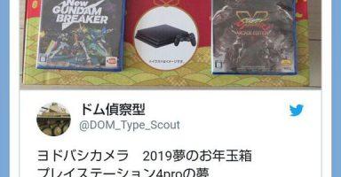 583c133b 384x200 - 【悲報】ヨドバシ、PS4福袋さん不人気過ぎて再販売