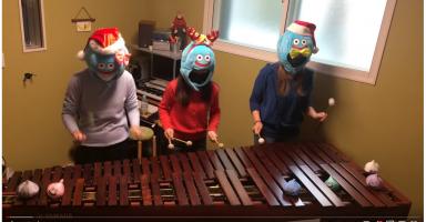 d099d886ed65ef765625779e628d2c5f 3 384x200 - 【動画】 ドラクエのBGMをマリンバで連弾する女子3人組の演奏クオリティがすごすぎる
